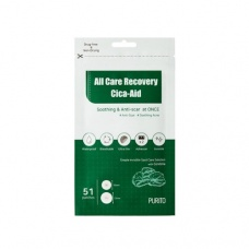 картинка Патчи от акне с центеллой PURITO All Care Recovery Cica-Aid